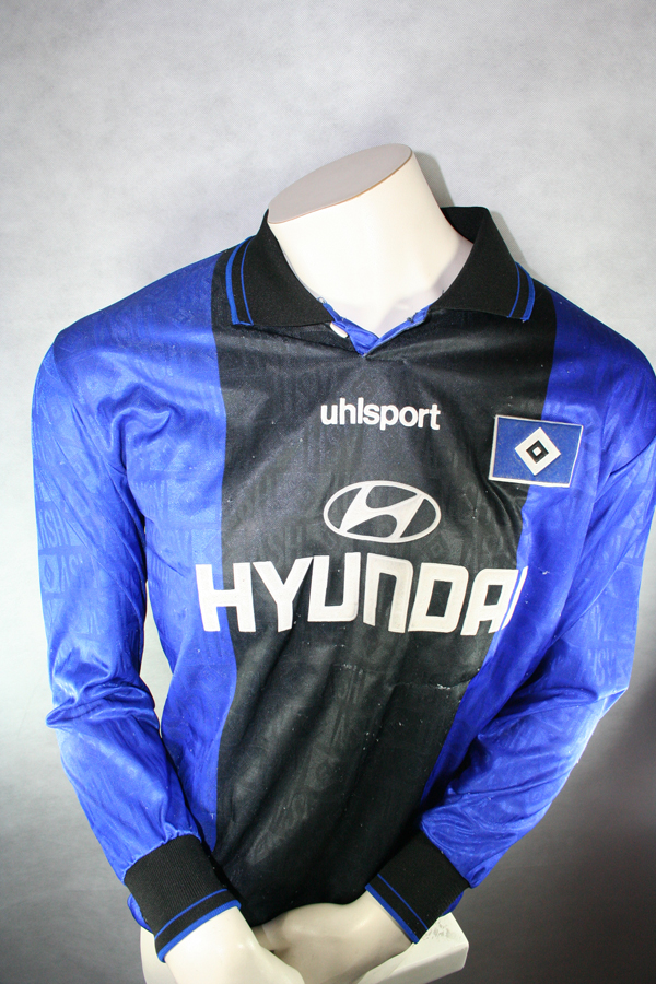 uhlsport hamburger sv trikot 17 anthony yeboah 1997 98 hsv. Black Bedroom Furniture Sets. Home Design Ideas