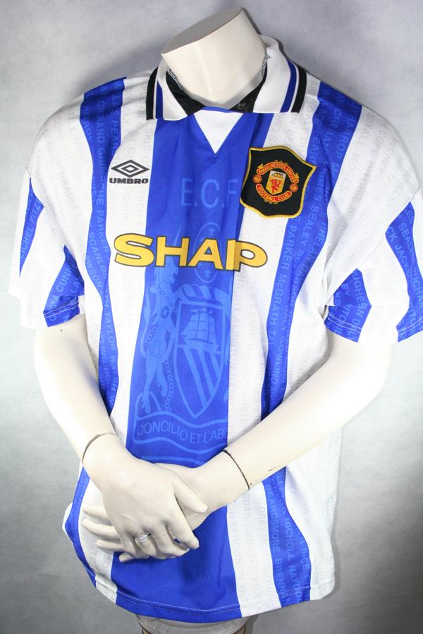 new concept 46ea2 06c65 Umbro Manchester United Jersey 7 Eric Cantona 1994-96 3rd ...
