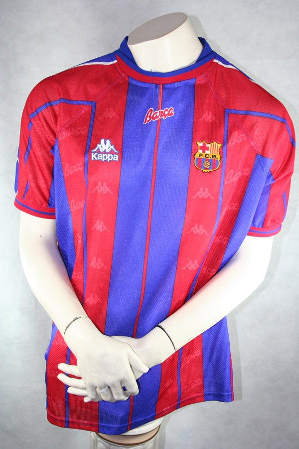 cheap for discount cce27 e3ad2 Kappa FC Barcelona Jersey 21 Luis Enrique 1997/98 Match ...