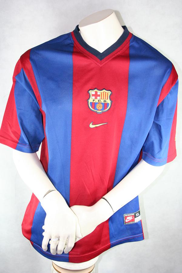 8cd3c778 Nike FC Barcelona jersey 4 Josep Guardiola Pep 1998/99 Mens size S/M ...
