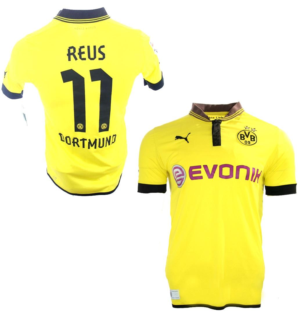 promo code a0e23 aa906 Puma Borussia Dortmund Jersey 11 Marco Reus 2012/2013 Home ...