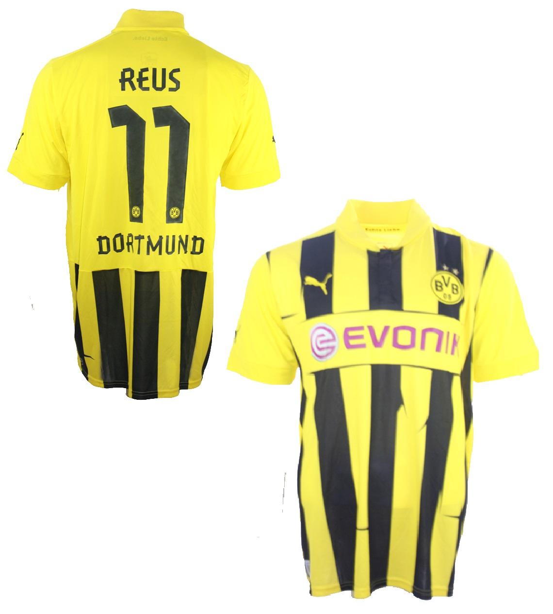 separation shoes 0152f 6271f Puma Borussia Dortmund Trikot 11 Marco Reus 2012/13 CL ...