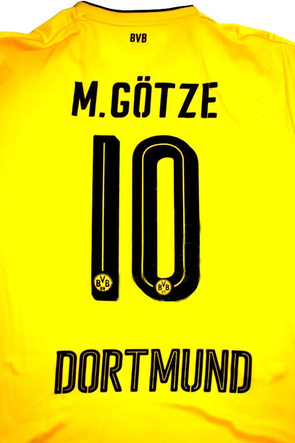 new arrival c631b 04fbf Puma Borussia Dortmund jersey 10 Mario Götze 2017/18 Evonik ...