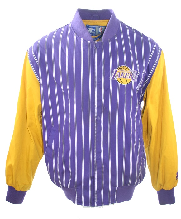 competitive price d6ac6 ad7fa Starter Los Angeles Lakers Jacket LA college oldschool retro ...