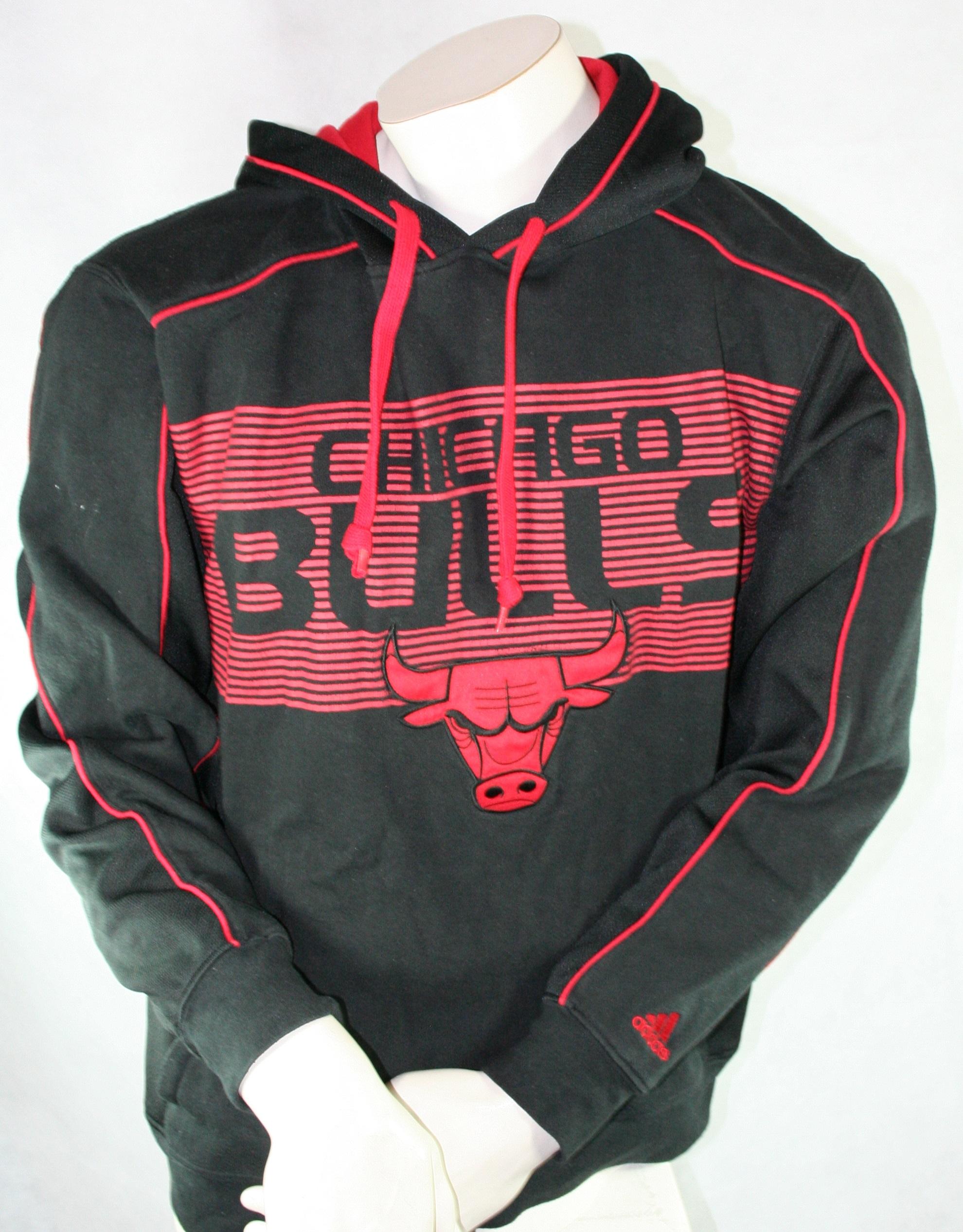 Adidas Chicago Bulls sweater Hoodie Sweatshirt NBA Men