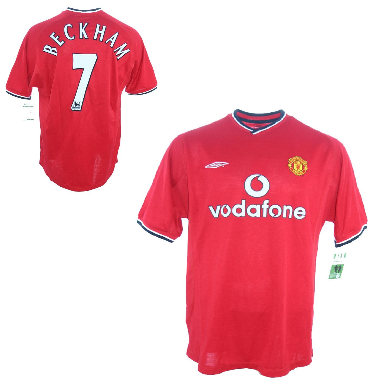 new style 04c1c bd80a Umbro Manchester United Jersey 7 David Beckham 2000/02 ...