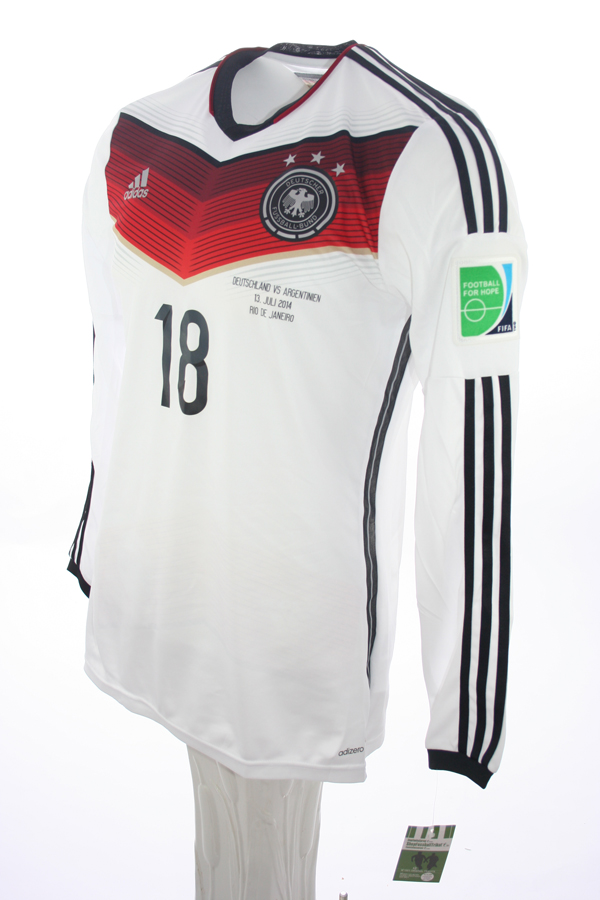 info for 047f3 2d7ca Adidas Germany Jersey 18 Toni Kroos WC 2014 home White men's ...