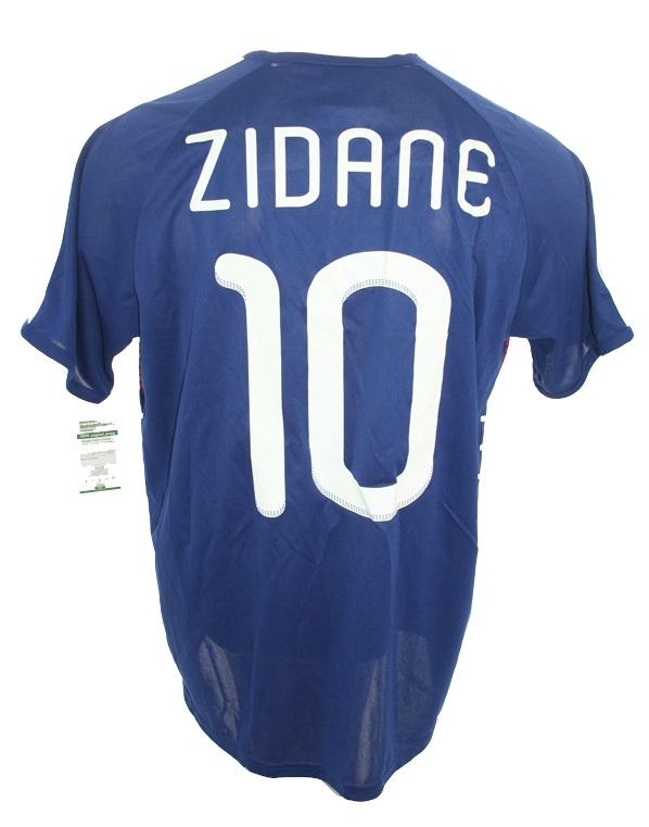 premium selection 009d7 5a1ad Adidas France Jersey 10 Zinedine Zidane WM 2010 home men's S ...