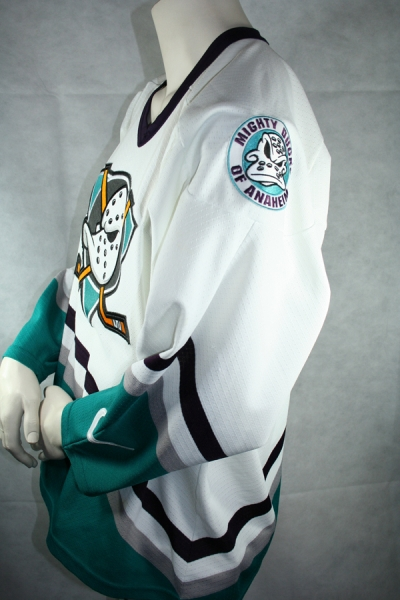 Nike Anaheim Mighty Ducks Jersey NHL Walt Disney Home white men's S/M/L/XL/XXL