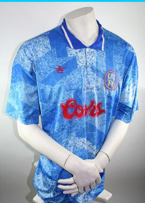 big sale 40fd7 54cfd Wind sportswear Chelsea jersey 1994/96 Coors men's S/M/L/XL ...