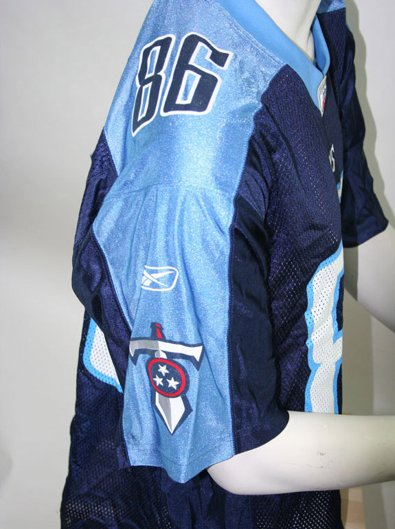 Reebok Titans Tennessee Titans jersey 86 Ben Troupe NFL Throwback men's M