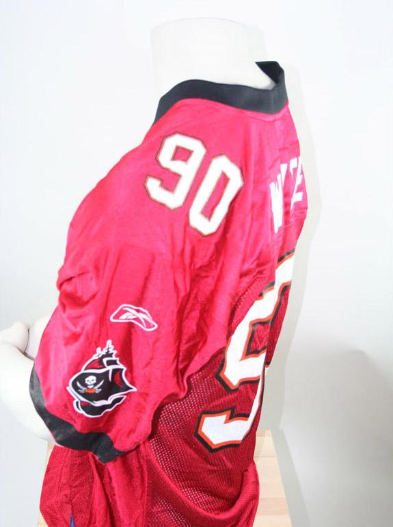 best sneakers a3ce9 f4f39 Reebok Tampa Bay Buccaneers Stylez G. White 90 NFL Jersey M ...