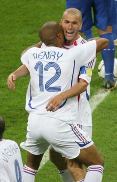 Adidas France jersey 12 Thierry Henry World Cup 2006 Final white men's M