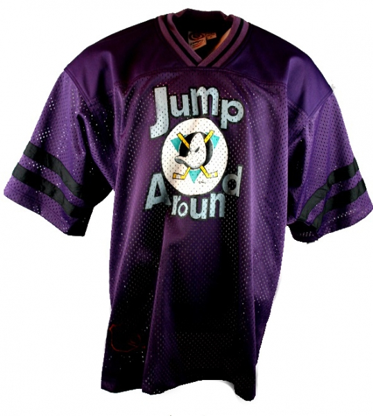 Campri Anaheim Mighty Ducks jersey 15 jump around Walt Disney shirt men's M