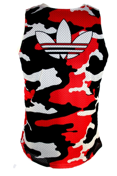 Adidas Chicago Bulls Tank Top Tanktop NBA basketball Originals camouflage men's M