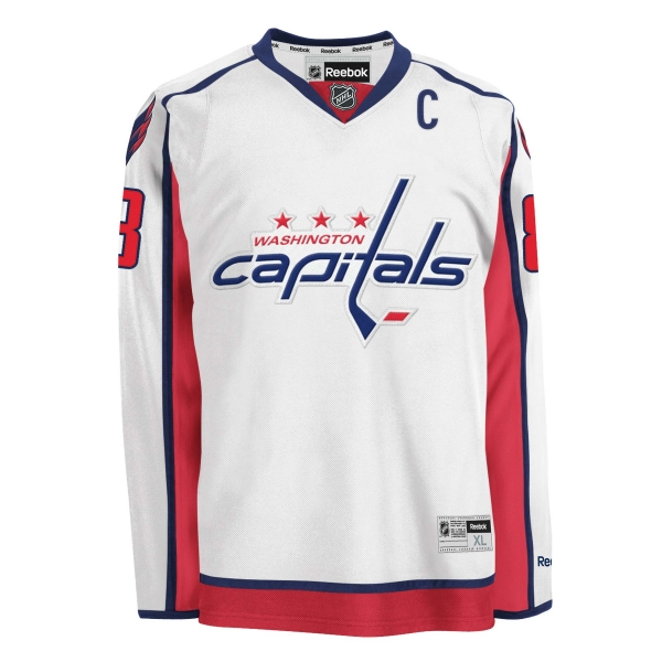 new product d67cc 1f737 Reebok Washington Capitals jersey 8 Alexander Ovechkin hockey NHL men's XL