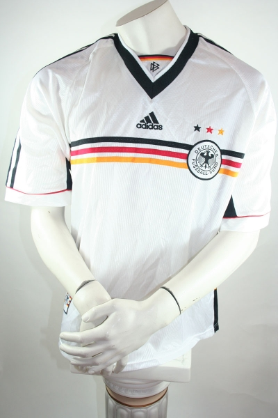 Adidas germany jersey shorts world cup 1998 home black men's M(D5) XL(D9)