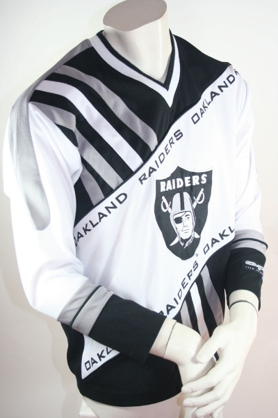 L.A. Los Angelos Raiders jersey CMP Oakland NFL American Football white black men's L