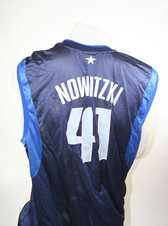pretty nice 9843e ed2c2 Reebok Dallas Mavericks jersey 41 Dirk Nowitzki NBA away ...