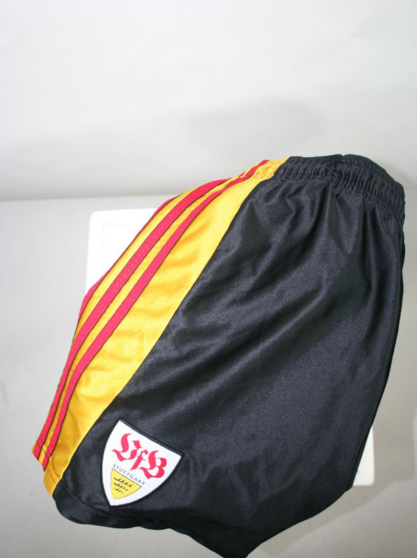Vfb Stuttgart short Away 2000/01 Gold black yellow size L