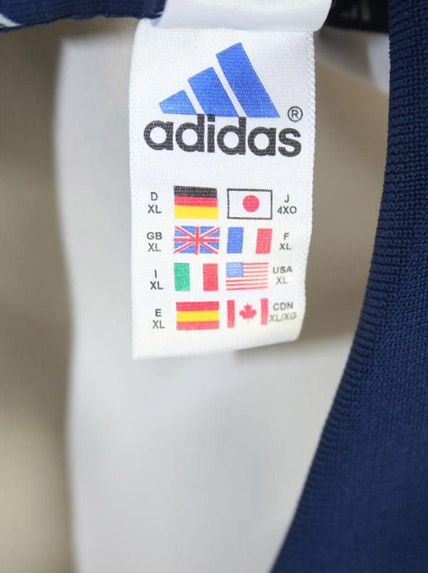 3bbd505cf Adidas Real Madrid jersey 2000 01 Teka men s XL shirt buy   order ...