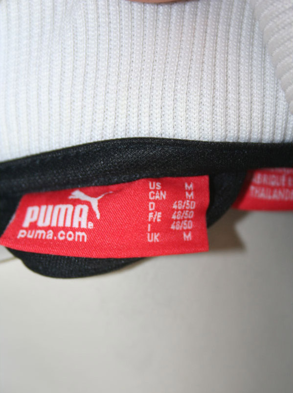 Puma Germany Puma jacket black 1990 2014 90 men's M.