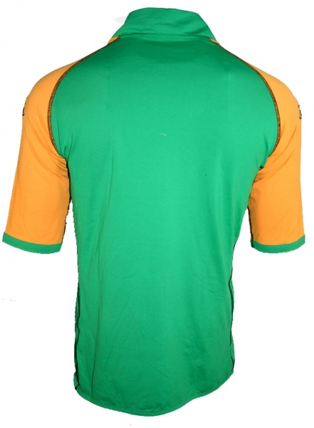 Kappa SV Werder Bremen jersey 10 Johan Micoud 2004/05 Kik green orange men's XXL/2XL