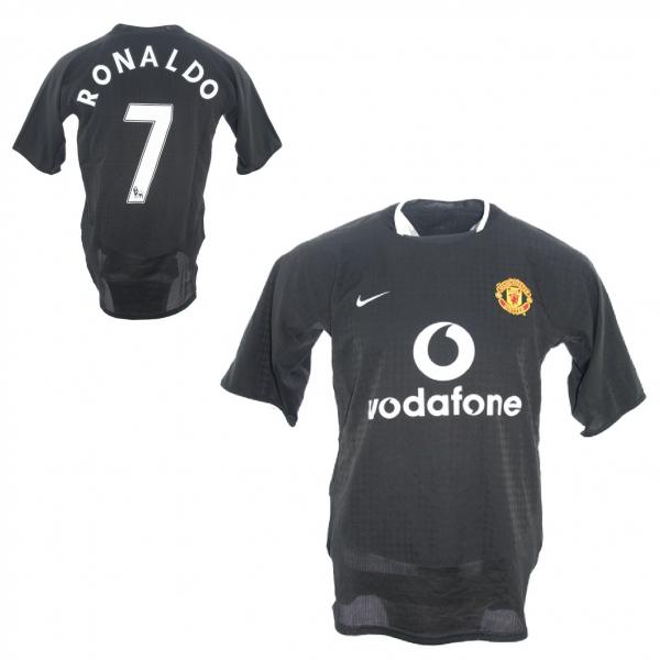 0f742f0e3 Nike Manchester United jersey 7 Cristiano Ronaldo 2003 04 Vodafone away  men s L