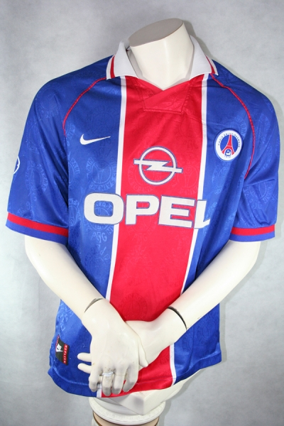 Nike Paris St. Germain Jersey 10 Rai 1996/97 Match Issued home men's XL