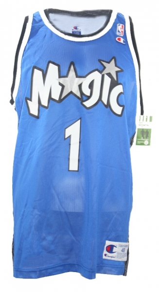 Champion Orlando Magic jersey 1 Anfernee penny Hardaway NBA blue men's XL