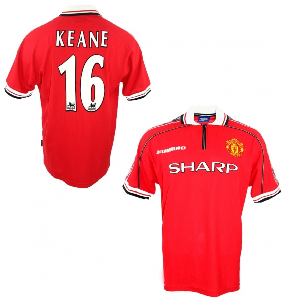 Umbro Manchester United jersey 16 Roy Keane 1998/99 Sharp men's XL