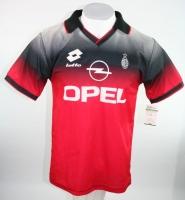 2e98d6eb8c Umbro AC Mailand Trikot 18 Roberto Baggio 1996 97 CL Opel Heim Herren S