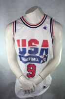 Champion Trikot USA 9 Michael Air Jordan Dream Team weiß NBA 1992 Herren M = 44