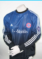Adidas FC Bayern Munich goalkeeper jersey 1 Oliver Kahn 2002/03 Match worn men's L