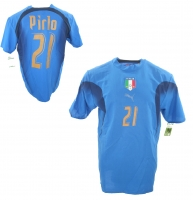 Puma Italy jersey 21 Andrea Pirlo 2006 World Cup champion men's S/L/XL