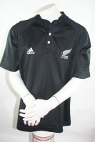 Adidas Neuseeland Trikot All Blacks Schwarz New Zealand Rugby Herren L