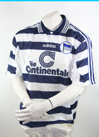 Adidas Hertha BSC Berlin jersey 1997/99 home die Continentale men's M or XL