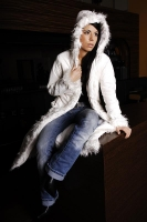 New Women Winter coat white 36/38/40
