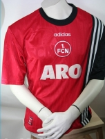 Adidas 1.FC Nuremberg jersey 1997/98 Aro home red men's M/L/XL