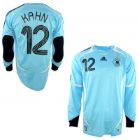 Adidas Germany keeper jersey 12 Oliver Kahn 2006 Keeper DFB home men's S-M 176cm or M