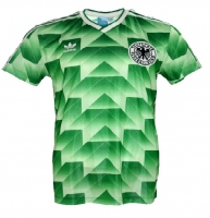 Adidas germany jersey world cup 1990 green Away new men'S S/M/L/XL/XXL