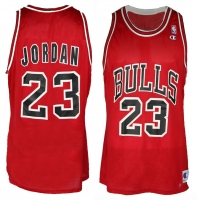 Champion Chicago Bulls jersey 23 Michael Jordan NBA men's XL (B-stock)
