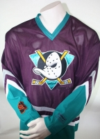 Campri Anaheim Mighty Ducks Trikot 22 Luis Mendoza NHL Away Herren - XL