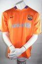 Nike FC Barcelona Trikot 10 Ronaldinho 2006/07 Match worn Unicef Orange Herren XL