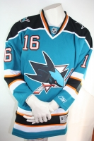 Original San Jose Sharks Trikot Reebook Authentic 16 Setguchi NHL L
