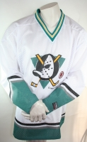 Campri Anaheim Mighty Ducks Trikot 22 Luis Mendoza NHL Weiß Hockey Herren XL