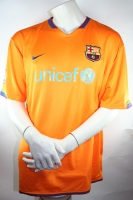 Nike FC Barcelona Trikot 19 Lionel Messi 2006/07 Away Orange Unicef - XXL