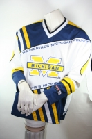 CMP Michigan Wolverines Trikot College NBA NFL Football & Basketball Herren L öz