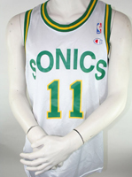 Champion Seattle Super Sonics Trikot 11 Detlef Schrempf NBA 90er - XL