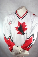 Canada Icehockey jersey Olympic games white Icehockey shirt men's L